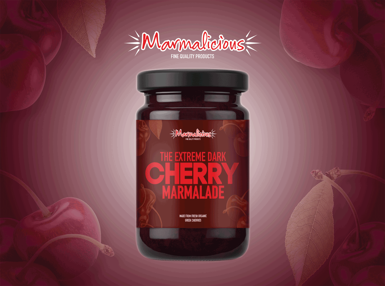 Cherry Marmalade Packaging