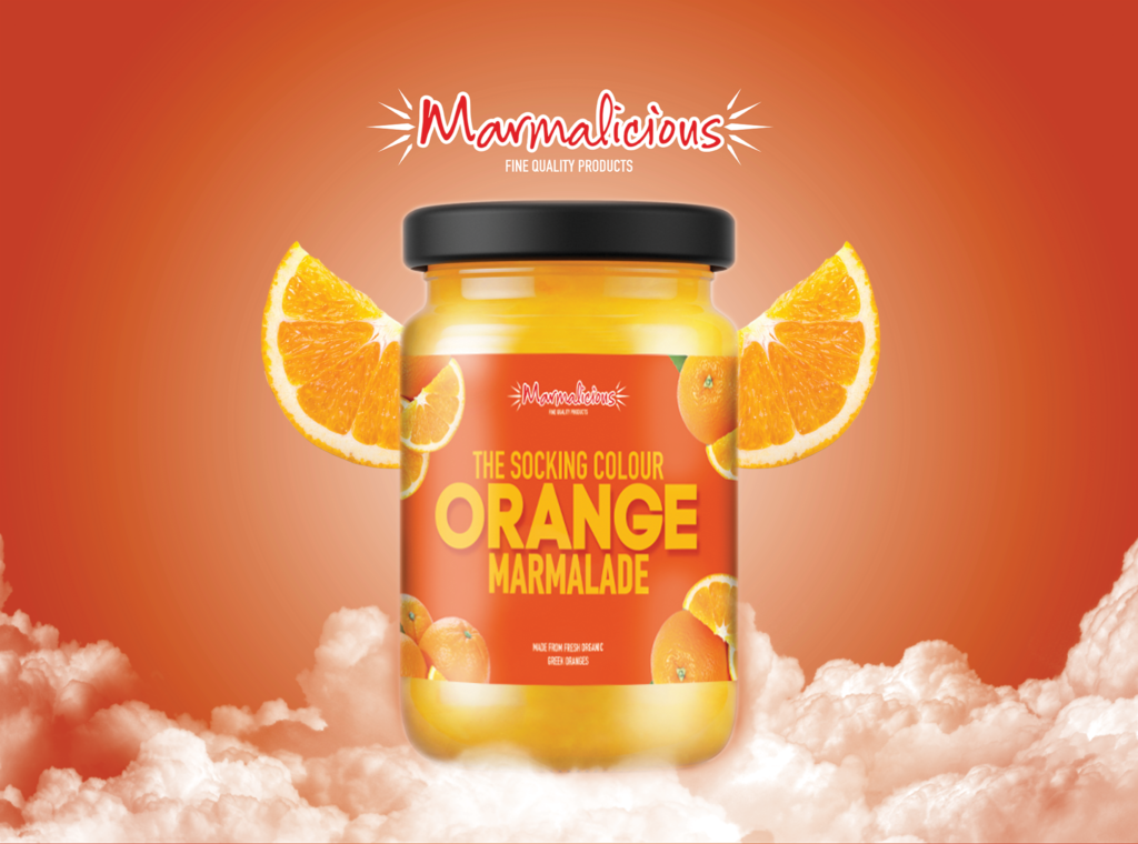 Orange Marmalade Packaging