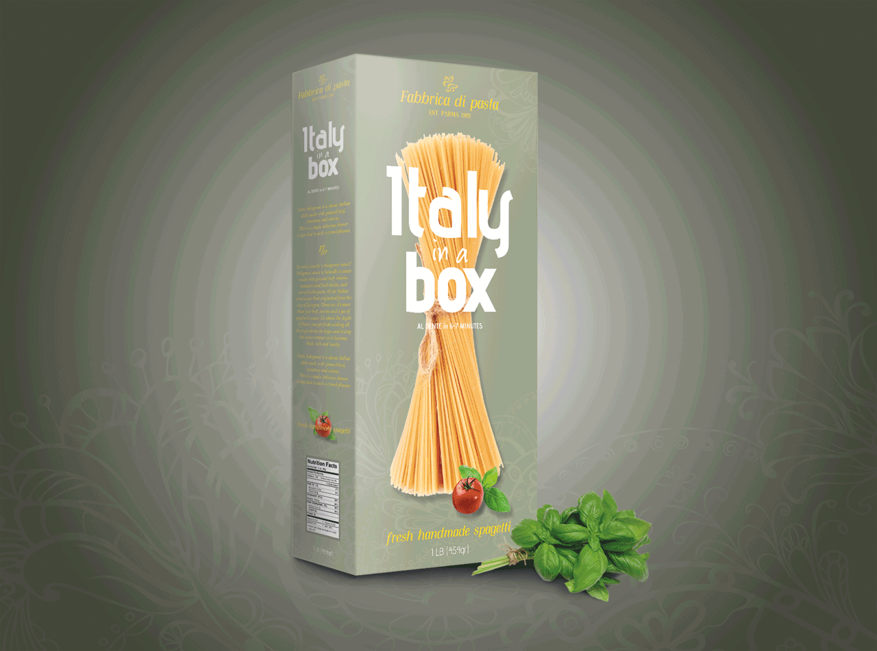 Handmade Pasta Packaging