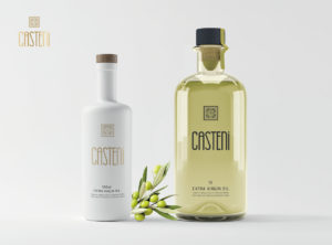 casteno olive oil packaging