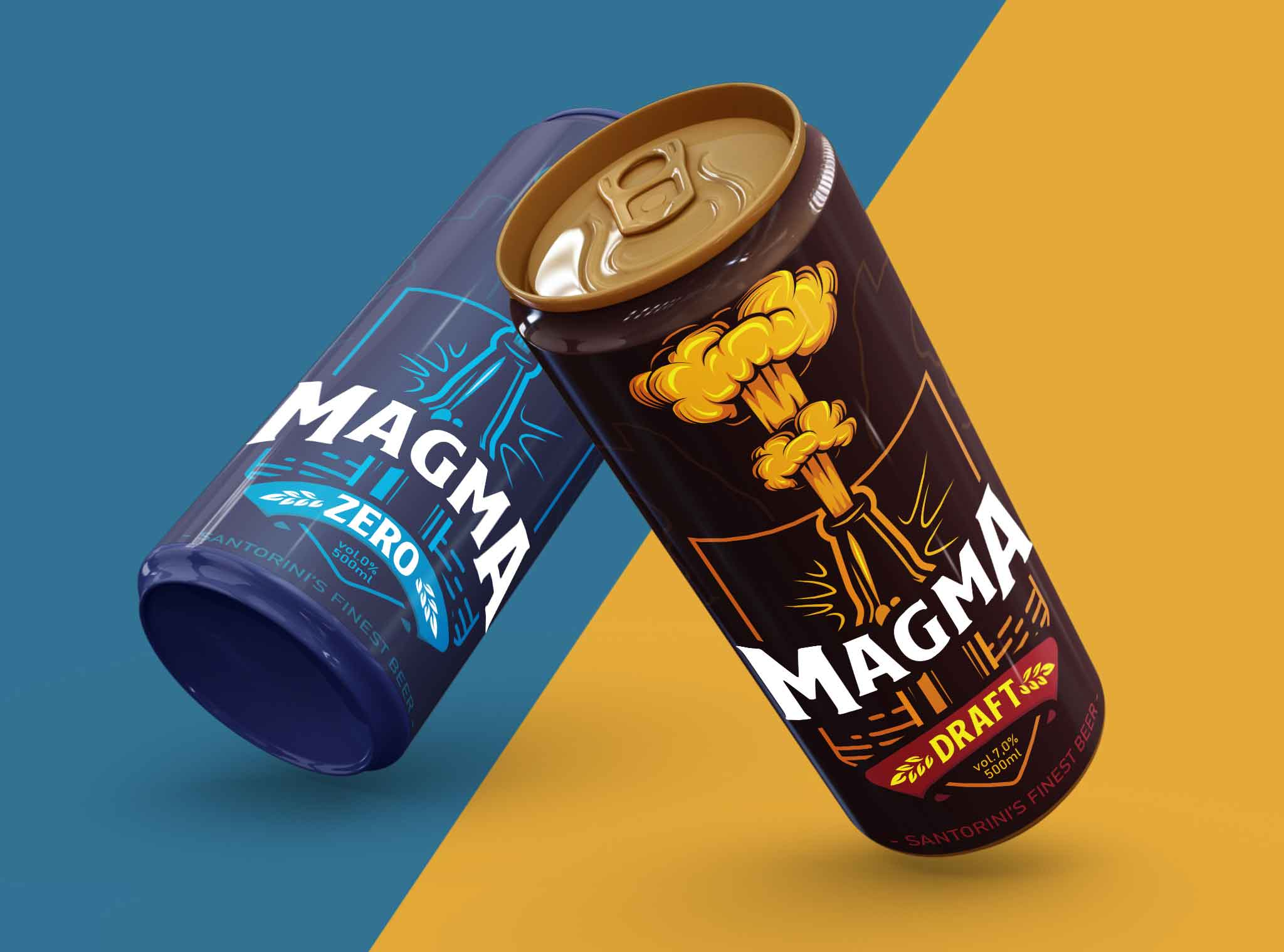 Magma Beer in a Can