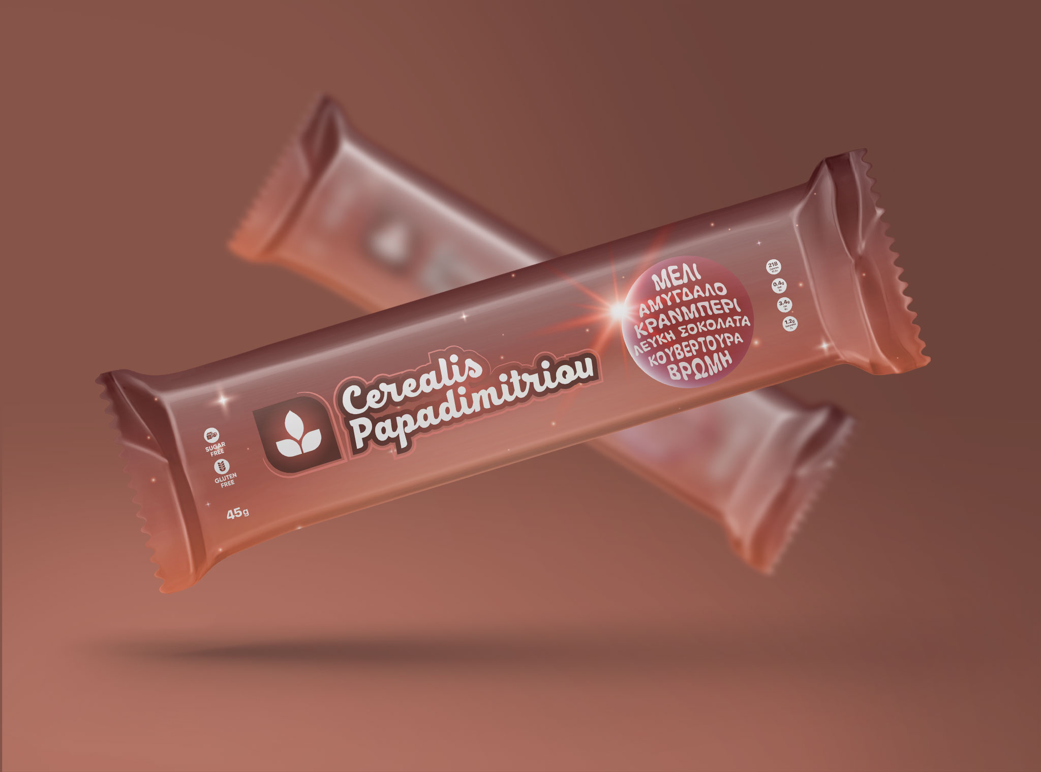 Cerealis Honey Bar Package Design